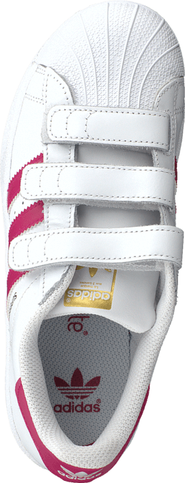 Superstar Foundation Cf C Ftwr White/Bold Pink