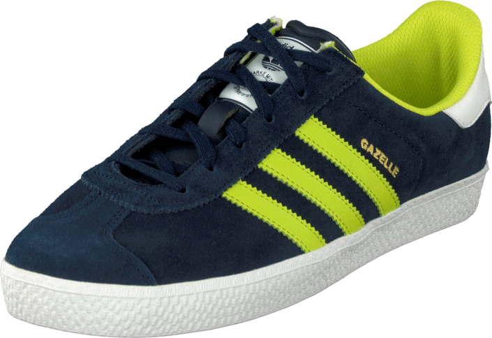 5e6196c1f9f Koop adidas Originals Gazelle 2 Jr Navy/Yellow/White blauwe Schoenen ...