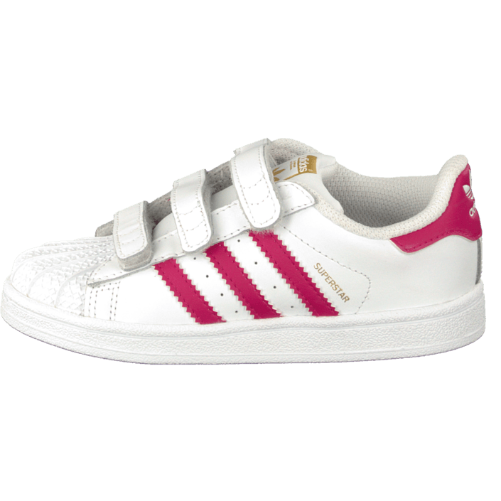 Superstar Foundation Cf I Ftwr WhiteBold Pink
