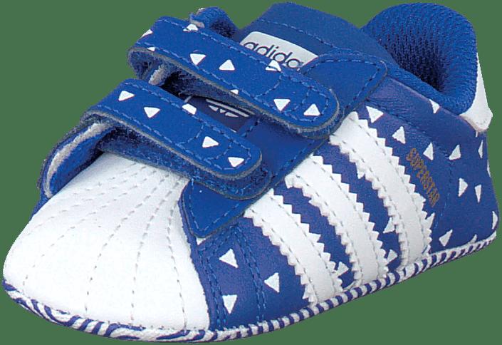 Superstar Crib Bold BlueFtwr WhiteBold Blue
