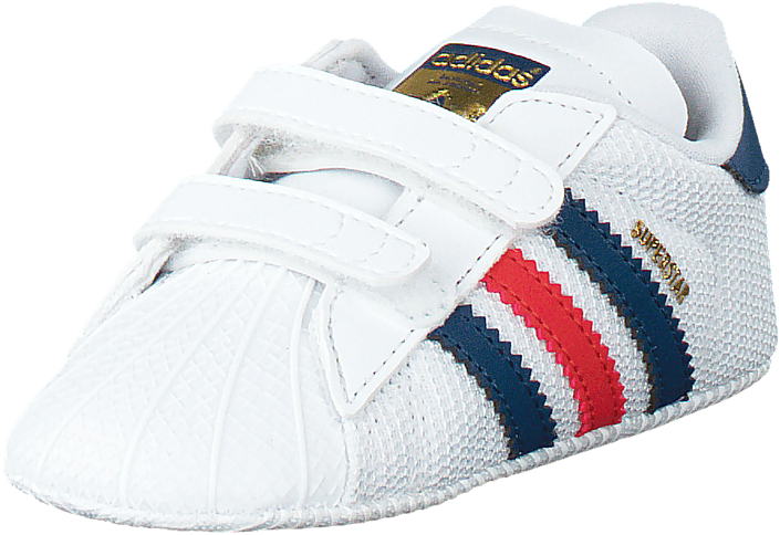 Superstar Crib Ftwr WhiteShadow Blue S16 St