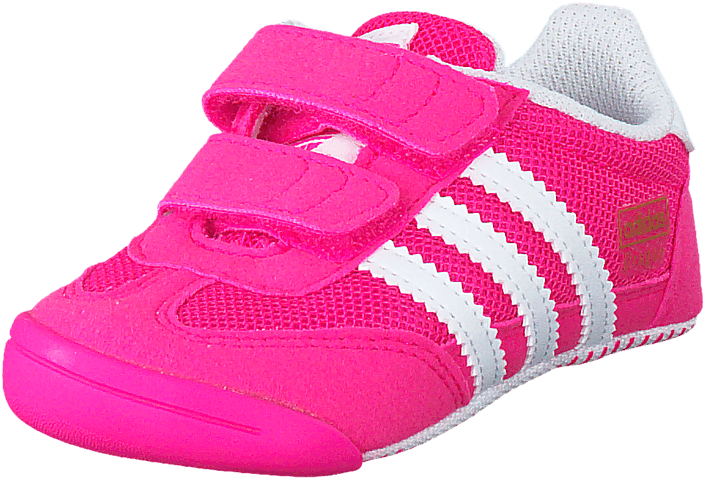 94f24e535d2 Buy adidas Originals Dragon L2W Crib Shock Pink S16/Ftwr White pink ...