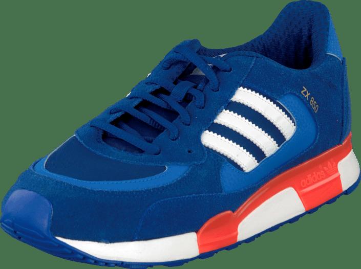 6134b84b855b5 Buy adidas Originals Zx 850 K Royal Ftwr White blue Shoes Online ...