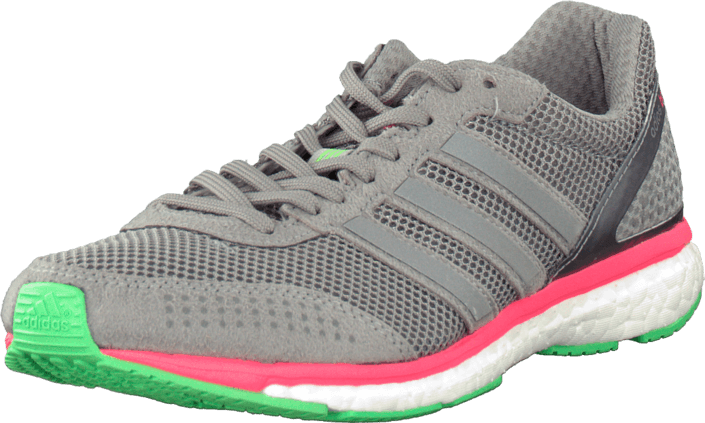 Adizero Adios Boost 2 M GreyFlash RedFlash Green