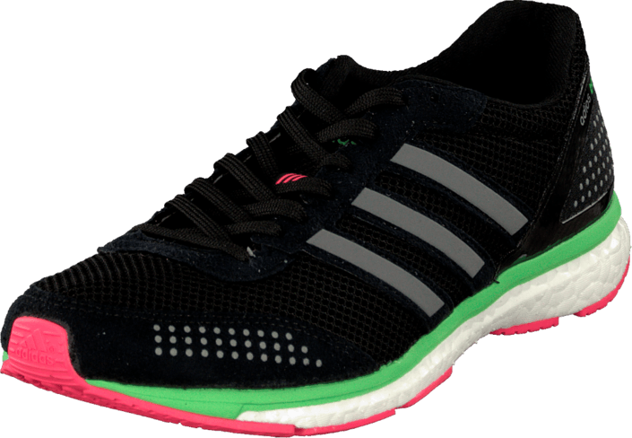 adidas Sport Performance - Adizero Adios Boost 2 W Black/Flash Red/Flash Green