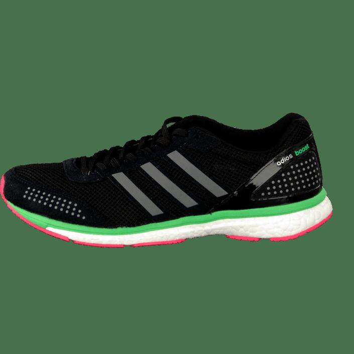 Classic Adidas Adizero Adios Boost 2 Running Shoes Green