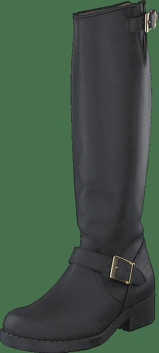Johnny Bulls - High Zip Back Black Shiny Gold
