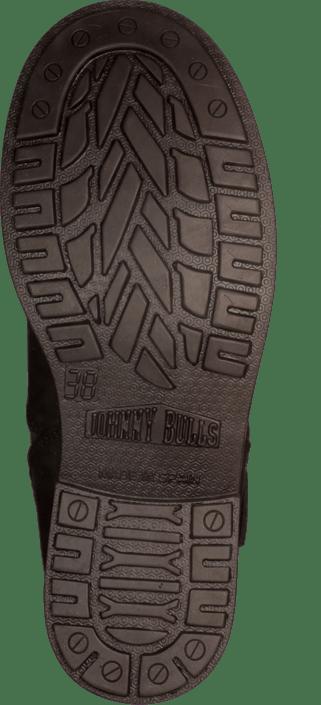 Johnny Bulls - Low Boot Zip Back Black/Silver