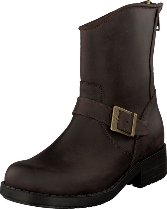 Johnny Bulls - Low Boot Zip Back Brown/Old Gold