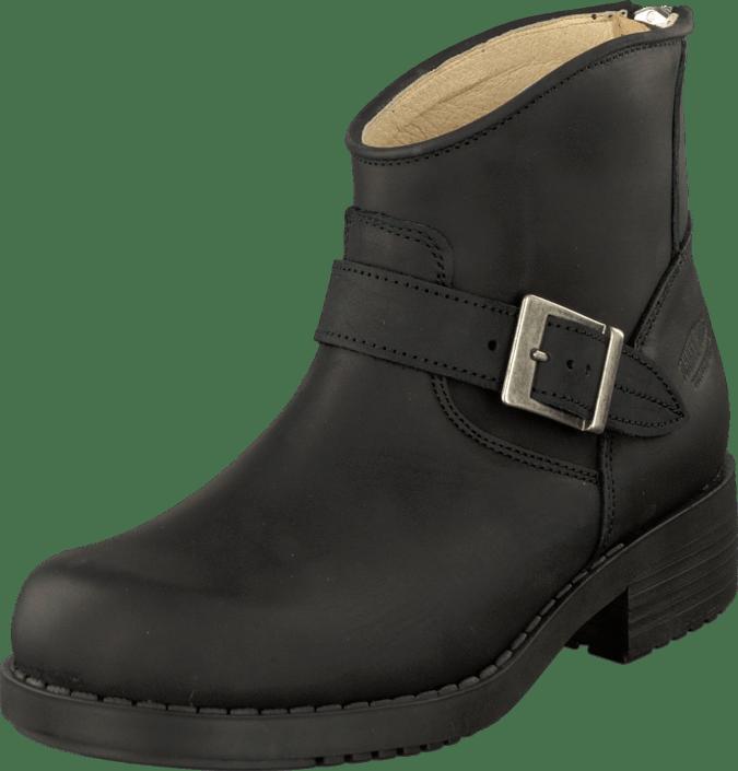 Very Low Boot Zip Back BlackSilver