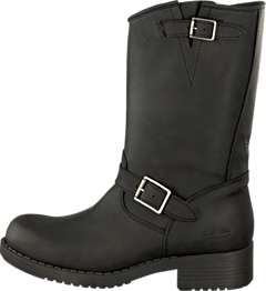 Mid Boot Black/Silver