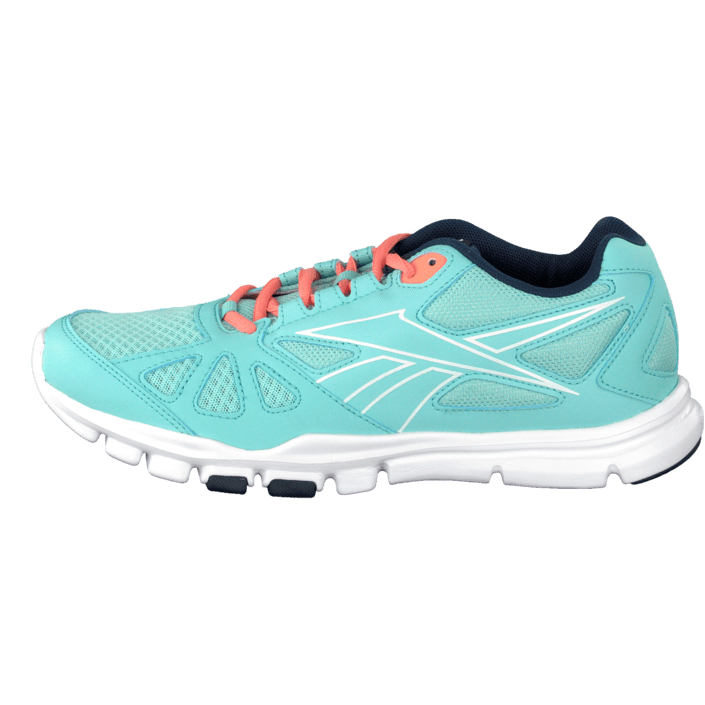 Reebok Yourflex Trainette Rs 6.0 Crystal BlueCoral Schuhe