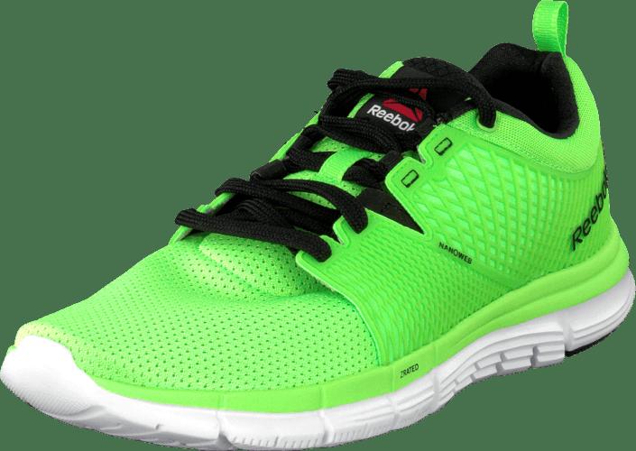 Reebok - Reebok Zquick Dash Solar Green/Black/White