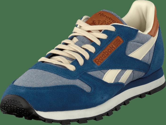 Reebok Classic Blue Leather Regular Sneakers