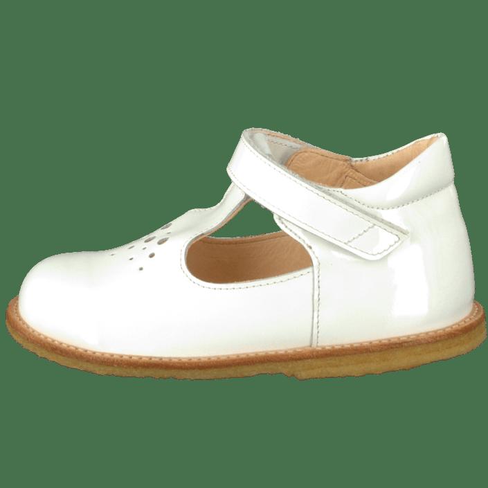 91b418e2 Kjøp Angulus 2376-101 Patent White hvite Sko Online   FOOTWAY.no