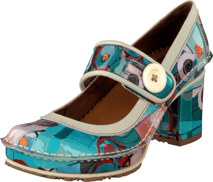 Art Tate Shoes buy art tate 700 geometric turquoise shoes online | footway.co.uk