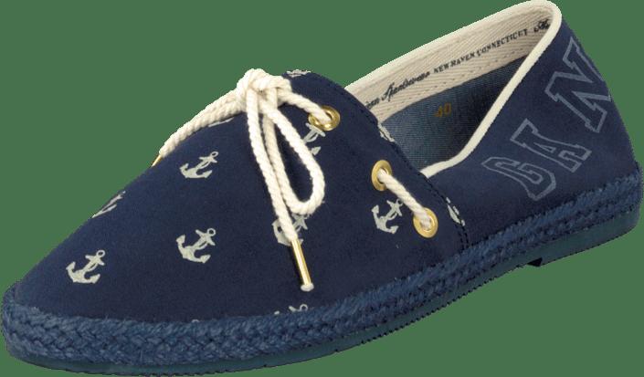 Gant Gina Cream  Indigo blå blåa Skor Online