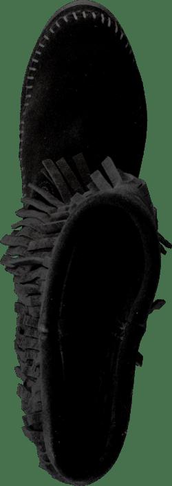 Kjøp Minnetonka 3-layer Fringe Boot Black Sko Online