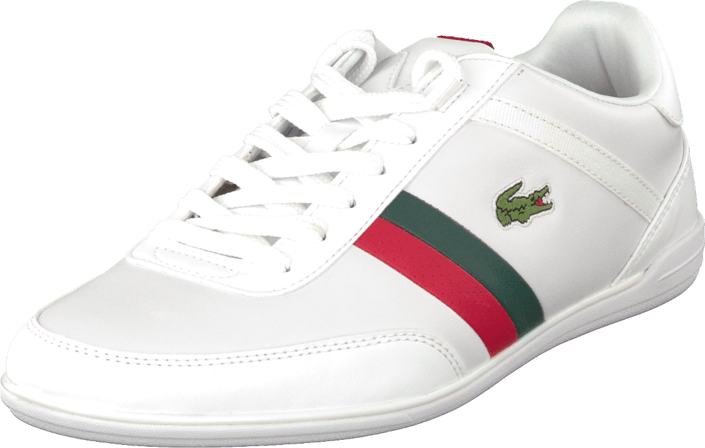 281dcee90139e Buy Lacoste Giron Pri Wht Red white Shoes Online