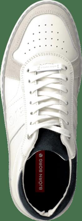 Acheter White/Navy Björn Borg Brooklyn White/Navy Acheter Blanches Chaussures Online e48368