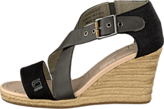 Aria Wedge Salon Strap Grey