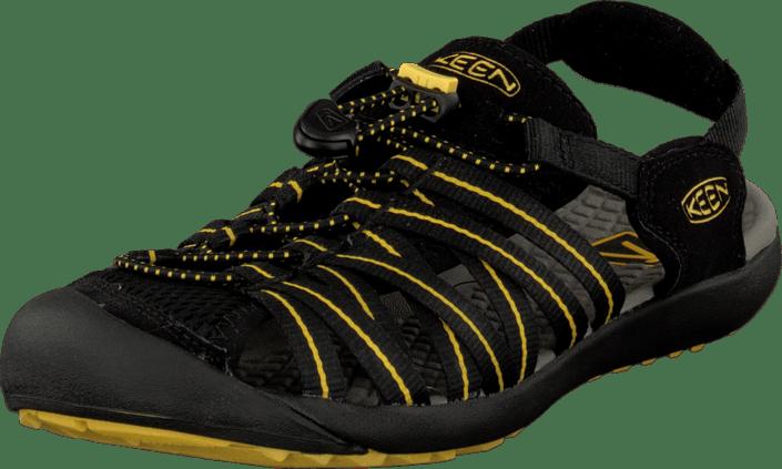Keen Kuta svart Ceylon gul svarta Skor Online