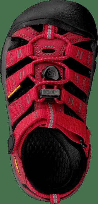 Keen - Newport H2 Toddler Ribbon Red/Gargoyle