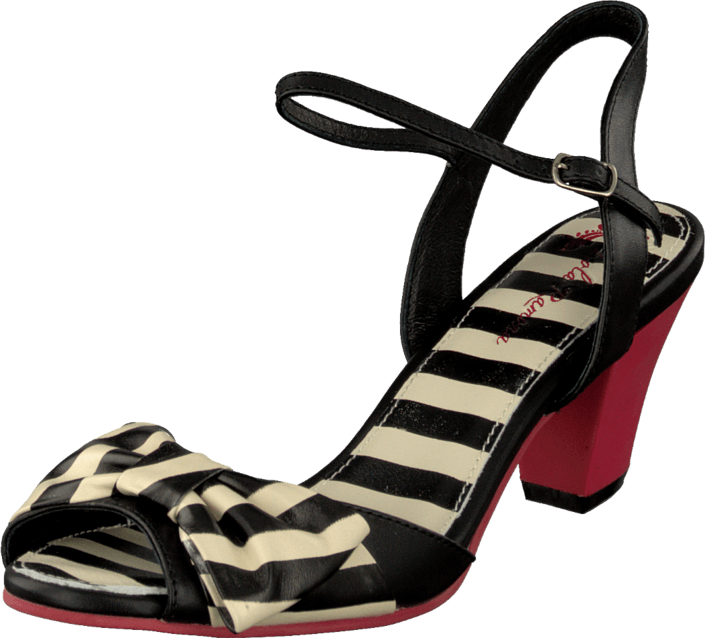 online store 2d3cb a5adf Elsie 411611-2 Black/white striped
