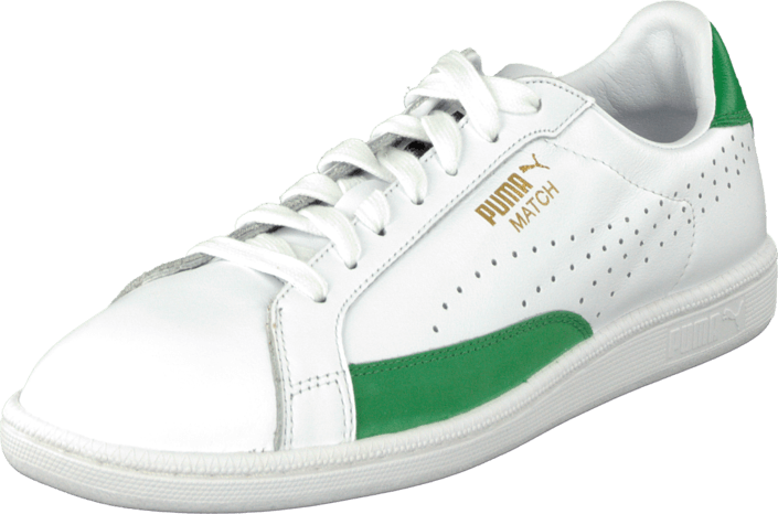 Buy Puma Match 74 White-Fern Green white Shoes Online  fbb09b947