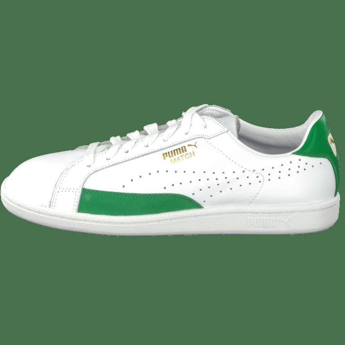 da9fde2d59e4 Buy Puma Match 74 White-Fern Green white Shoes Online