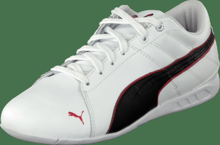 Buy Puma Racing Cat 1.1 Venture White-Black-High Risk Red white ... 44517b61db