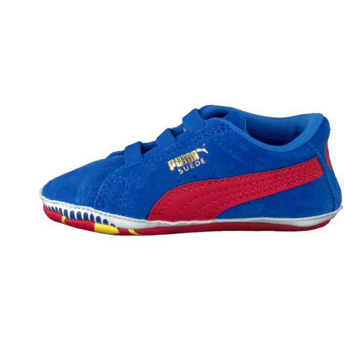 Crib Pack Suede Superman BlueRed