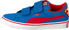Puma S Vulc Cvs Superman Kids Strong Blue-High Risk Red