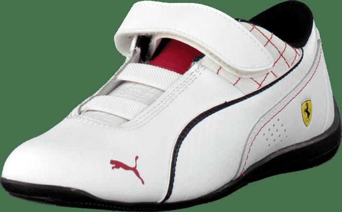 b44d88b9b81b14 Buy Puma Drift Cat 6 L Sf V Kids White-White-Black white Shoes ...