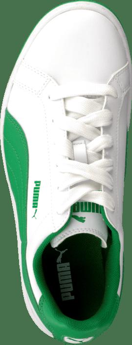 1f39a86afc5d Buy Puma Puma Smash L Jr White-Fern Green white Shoes Online ...