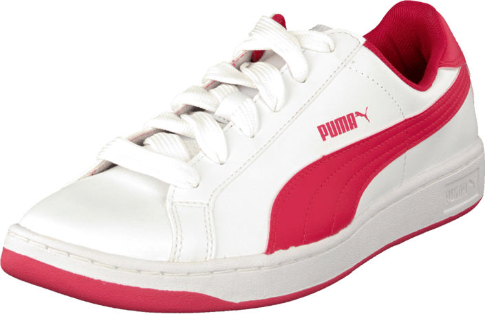 best service 6cd4e 36f7a Puma - Puma Smash L Jr White-Geranium