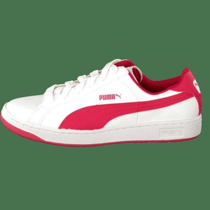 Puma Smash L Jr White Geranium