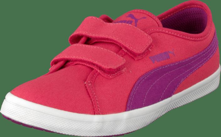 Koop Elsu Vivid Geranium Viola V Roze Canvas Puma F Schoenen Kids q5wrq4B