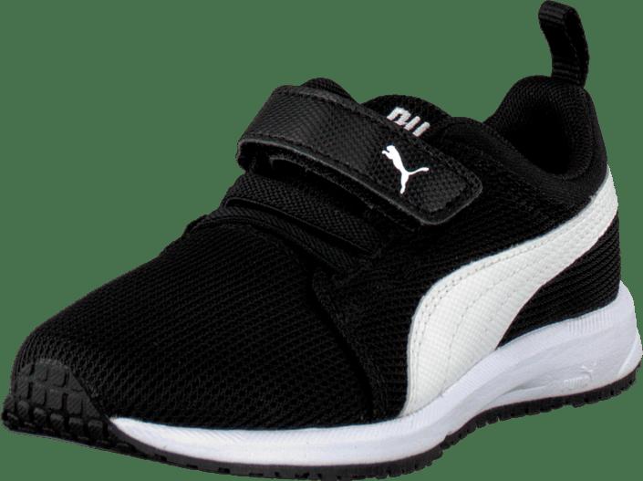 Carson Runner V Kids Black White