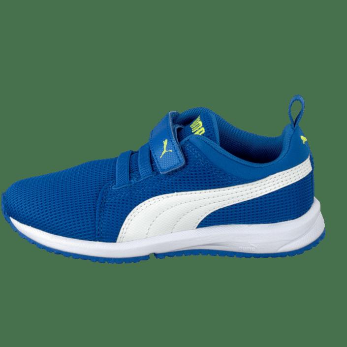 Carson Runner V Kids Strong Blue White