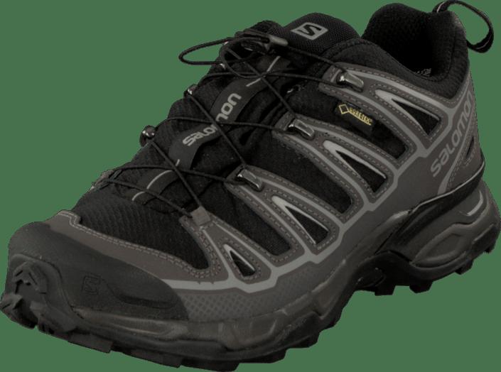 Salomon X Ultra 2 Gore Tex Schwarz Autobahn Aluminum Schuhe