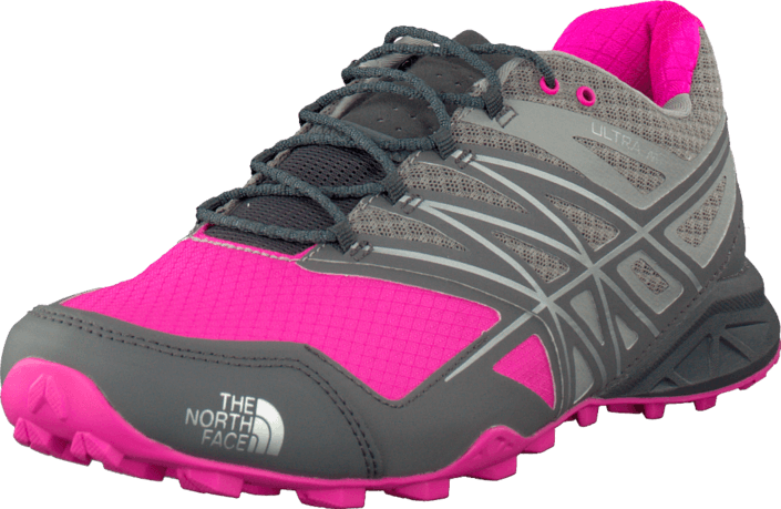 The North Face - W  Ulta Mt Griffin Grey/Glo Pink