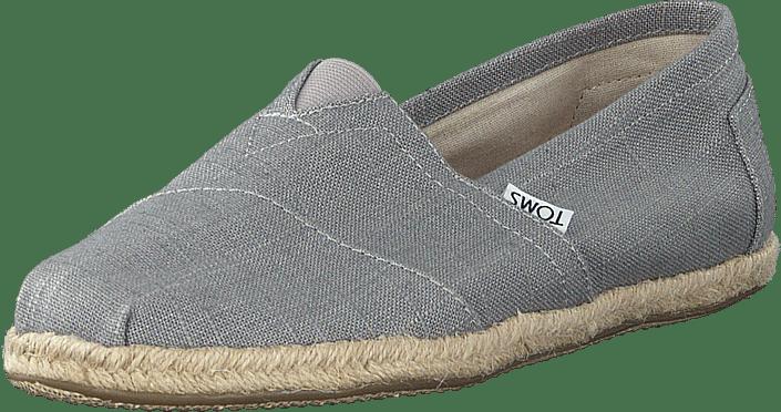 Kjøp Toms Seasonal Classics Grey Linen sko Online | FOOTWAY.no