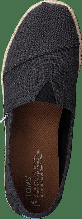 Kjøp Toms Seasonal Classics Washed Black Sko Online