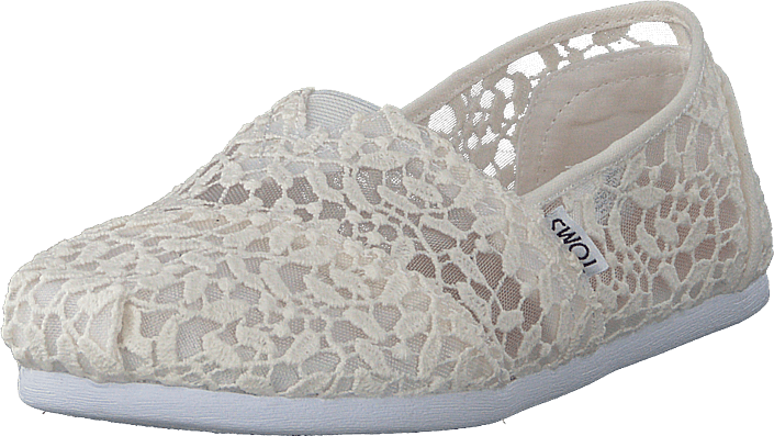 52698aa6 Buy Toms Seasonal Classics White Lace Leaves grey Shoes Online ...