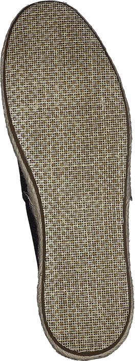 Seasonal Classics Black Washed Canvas Rope Sole