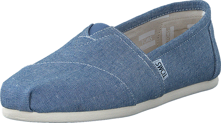Toms - Seasonal Classics Blue Slub Chambray