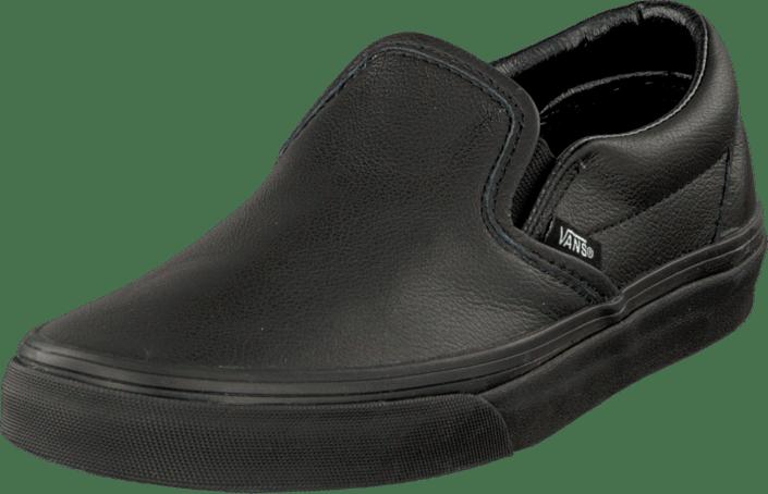 9982b8314023f Buy Vans U Classic Slip-On (Premium) Black black Shoes Online ...