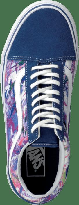 Vans - U Old Skool (Multi Paint) Purple