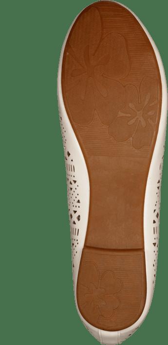 Kjøp Sko White Kalla Online Brune Wildflower Flats r7rHqp